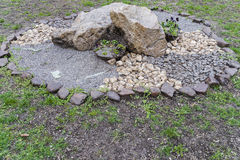 Ρυθμίσεις πετρών στον κήπο #1 Στοκ φωτογραφία με δικαίωμα ελεύθερης χρήσης