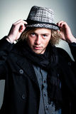 Ρυθμίστε το καπέλο Στοκ φωτογραφία με δικαίωμα ελεύθερης χρήσης