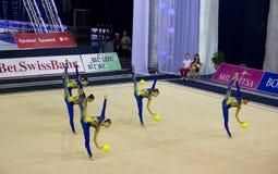 ρυθμικός κόσμος γυμναστικής φλυτζανιών του 2012 Στοκ φωτογραφία με δικαίωμα ελεύθερης χρήσης