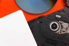 Ρυθμιστής Cd dvd Στοκ Εικόνα