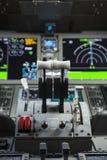 Ρυθμιστικές βαλβίδες επιβατηγών αεροσκαφών Στοκ εικόνες με δικαίωμα ελεύθερης χρήσης