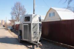 Ρυμουλκό για τα άλογα Στοκ εικόνα με δικαίωμα ελεύθερης χρήσης