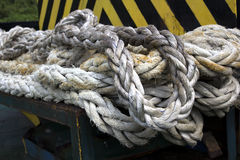 Ρυμουλκώντας σχοινί Στοκ εικόνα με δικαίωμα ελεύθερης χρήσης
