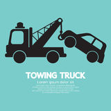 Ρυμουλκώντας φορτηγό αυτοκινήτων Στοκ Εικόνα