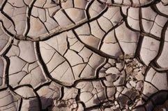 Ρωγμές λάσπης, ξηρά γη Στοκ εικόνες με δικαίωμα ελεύθερης χρήσης