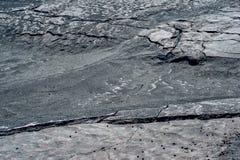 Ρωγμές στην επιφάνεια της στεριάς Στοκ εικόνα με δικαίωμα ελεύθερης χρήσης