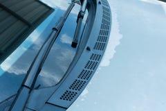 Ρωγμές στο αυτοκινητικό χρώμα παλαιό Στοκ φωτογραφία με δικαίωμα ελεύθερης χρήσης