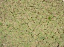 Ρωγμές του ξηρού χώματος στην ξηρά εποχή στοκ εικόνες με δικαίωμα ελεύθερης χρήσης