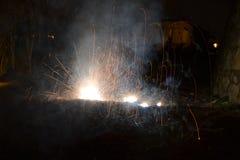 Ρωγμή πυρκαγιάς στοκ εικόνα με δικαίωμα ελεύθερης χρήσης