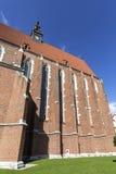 Ρωμαίος - καθολική εκκλησία, βασιλική του Corpus Christi, Κρακοβία, Πολωνία Στοκ Φωτογραφίες