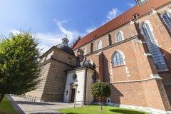 Ρωμαίος - καθολική εκκλησία, βασιλική του Corpus Christi, Κρακοβία, Πολωνία Στοκ εικόνες με δικαίωμα ελεύθερης χρήσης