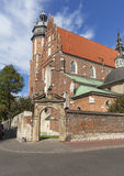 Ρωμαίος - καθολική εκκλησία, βασιλική του Corpus Christi, Κρακοβία, Πολωνία Στοκ Εικόνες