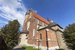 Ρωμαίος - καθολική εκκλησία, βασιλική του Corpus Christi, Κρακοβία, Πολωνία Στοκ φωτογραφίες με δικαίωμα ελεύθερης χρήσης