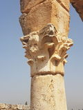 Ρωμαίος καταστρέφει τον ελληνικό αρχαίο Λίβανο Στοκ Εικόνα