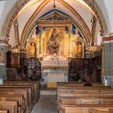 Ρωμανικές εκκλησίες της Προβηγκίας στοκ εικόνα με δικαίωμα ελεύθερης χρήσης