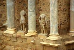ρωμαϊκά αγάλματα Στοκ Φωτογραφίες