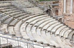 ρωμαϊκά βήματα τσίρκων στοκ εικόνα