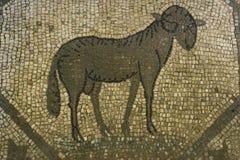 Ρωμαϊκά μωσαϊκά πατωμάτων, Aquileia, Ιταλία Στοκ Φωτογραφία