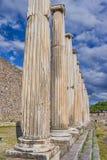 Ρωμαϊκά Pergamum - Asklepion Στοκ εικόνα με δικαίωμα ελεύθερης χρήσης