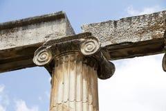 Ρωμαϊκές αρχαίες καταστροφές σε Aphrodisias Στοκ Φωτογραφίες