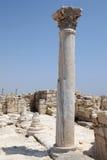 Ρωμαϊκές καταστροφές στο Κούριο, Κύπρος Στοκ Εικόνα