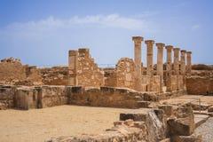 ρωμαϊκές καταστροφές Στοκ Φωτογραφίες