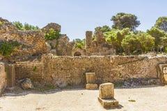 ρωμαϊκές καταστροφές Στοκ Φωτογραφία