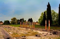 Ρωμαϊκές καταστροφές, Aquileia Στοκ Εικόνες