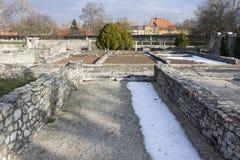 Ρωμαϊκές καταστροφές Aquincum Στοκ Εικόνες