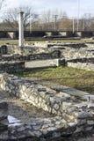 Ρωμαϊκές καταστροφές Aquincum Στοκ Φωτογραφία