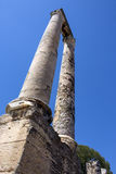 Ρωμαϊκές καταστροφές - Arles - νότος της Γαλλίας Στοκ Φωτογραφία
