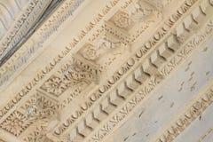 Ρωμαϊκές λεπτομέρειες ναών στο Νιμ, Προβηγκία, Γαλλία Στοκ εικόνα με δικαίωμα ελεύθερης χρήσης