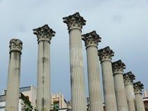 Ρωμαϊκές στήλες στην Κόρδοβα, Ισπανία Στοκ φωτογραφία με δικαίωμα ελεύθερης χρήσης