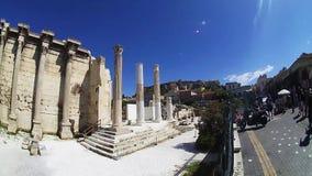 Ρωμαϊκή αγορά στον περίβολο παζαριών της Αθήνας, Ελλάδα φιλμ μικρού μήκους