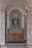 Ρωμαϊκή αρχιτεκτονική, βιβλιοθήκη Στοκ φωτογραφίες με δικαίωμα ελεύθερης χρήσης