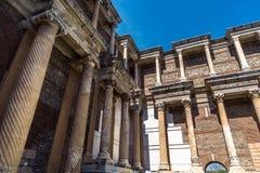 Ρωμαϊκή αυτοκρατορία Sardes Sardis της Lydia πόλεων αρχαίου Έλληνα στοκ φωτογραφίες