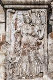 Ρωμαϊκή αψίδα της ανακούφισης του Constantine Στοκ φωτογραφία με δικαίωμα ελεύθερης χρήσης