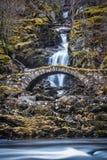 Ρωμαϊκή γέφυρα Glen Λυών Σκωτία Στοκ φωτογραφία με δικαίωμα ελεύθερης χρήσης