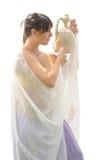 Ρωμαϊκή γυναίκα με την κανάτα νερού Στοκ εικόνες με δικαίωμα ελεύθερης χρήσης