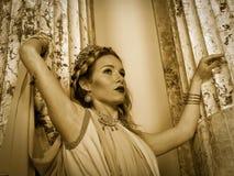 ρωμαϊκή γυναίκα Στοκ εικόνα με δικαίωμα ελεύθερης χρήσης