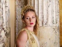 ρωμαϊκή γυναίκα Στοκ Φωτογραφία