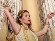 ρωμαϊκή γυναίκα Στοκ Φωτογραφίες