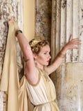 ρωμαϊκή γυναίκα Στοκ Εικόνες