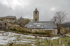 Ρωμαϊκή εκκλησία Sant Joan de Boi, Καταλωνία - Ισπανία στοκ φωτογραφία με δικαίωμα ελεύθερης χρήσης