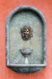 Ρωμαϊκή επικεφαλής πηγή Στοκ εικόνα με δικαίωμα ελεύθερης χρήσης