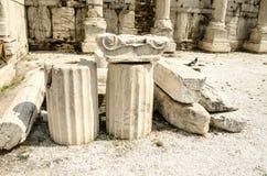 Ρωμαϊκή ιστορία αρχιτεκτονικής, Αθήνα, Ελλάδα Στοκ Φωτογραφία