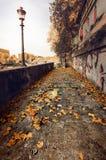 ρωμαϊκή οδός Στοκ Εικόνες