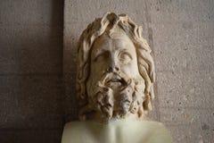 Ρωμαϊκή περίοδος αρχαίο Corinth Zeus Στοκ Εικόνες