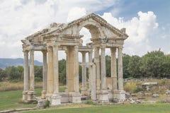 Ρωμαϊκή πύλη tetrapylon Στοκ Φωτογραφίες