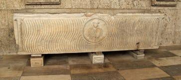 Ρωμαϊκή Σαρκοφάγος - Κάλιαρι στοκ φωτογραφία με δικαίωμα ελεύθερης χρήσης